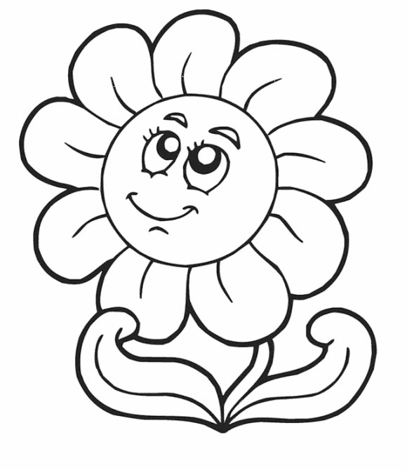 daisy flower coloring pages - photo#20