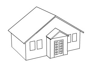 Image Result For House Coloring Pages