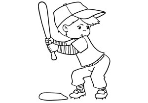 sports cartoon rainbow - Sports Drawing Pictures
